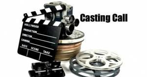 casting call clap board